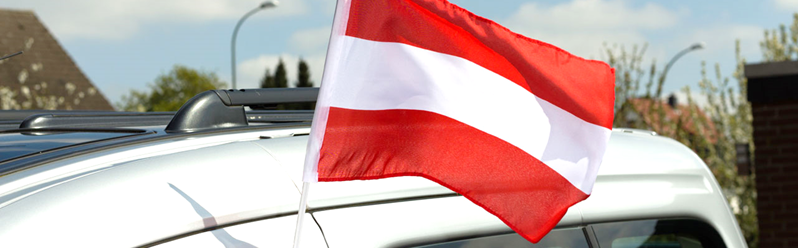 Met de auto naar Oostenrijk