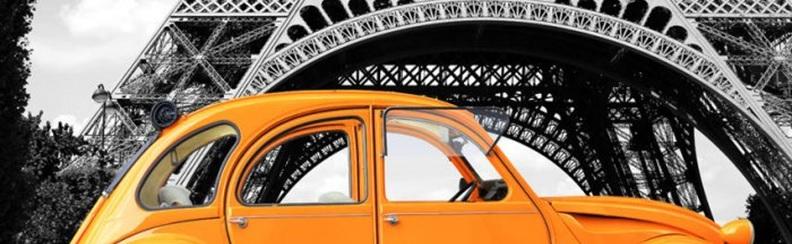 Met de auto naar Frankrijk